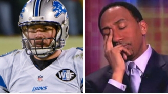 The Detroit Lions Troll Stephen A. Smith After Ripping Matthew Stafford And His Record-Setting Contract