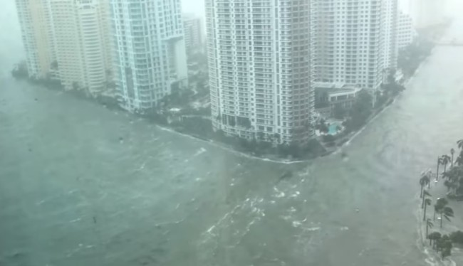 Miami Brickell Hurricane Irma
