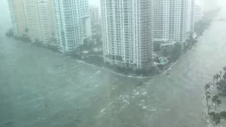 Unbelievable Storm Videos That Show Florida Is Getting Rampaged By Hurricane Irma