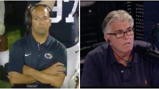 Mike Francesa Goes Absolutely Ballistic On Penn State Coach James Franklin For Icing The Kicker Up 56-0
