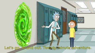 Embrace This Fantastic 'Rick And Morty' '20 Minutes Adventure' Meme