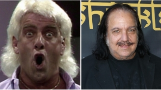 Ron Jeremy Calls Shenanigans On Ric Flair's Claim That He's Slept With 10,000 Women