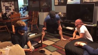 Roommates Create Fun Game Using A Ceiling Fan That Could Be The Next Great Drinking Game