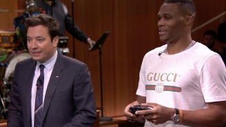 Russell Westbrook Gets Dominated In 'NBA Jam' By Jimmy Fallon And This Has To Be Humiliating For Him