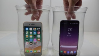 Dude Soaks The iPhone 8 And Galaxy S8 In Salt Water For 30 Minutes To See How They Hold Up