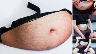 The 'Dadbag' Fanny Pack For Dad Bods Is Officially The Greatest Invention In Human History