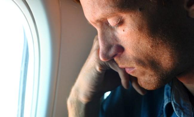 sleeping during takeoff landing plane damage body