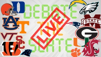 DEBATE THE SLATE LIVE: USC at Wazzu, Clemson at VA Tech, Panthers at Pats, and much much more!