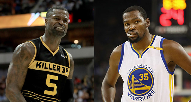 stephen jackson lost respect kevin durant fake twitter