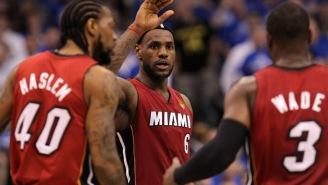 Udonis Haslem Had An A+ Response To What He'll Do If Ex-Teammates Wade And LeBron Reunite In Cleveland