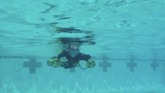 These Dudes Built An Awesome 'Underwater Ironman Jetpack' That Would Make James Bond Jealous