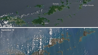 Before And After Satellite Images Show Violent Hurricane Irma Destruction In Caribbean And Florida