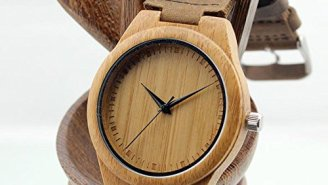This Bamboo Watch Is Wooden Craftsmanship At Its Finest