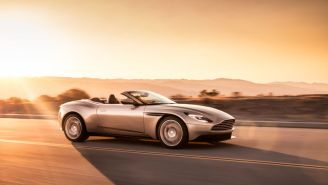 Aston Martin's DB11 Volante Is A Beautiful 503-HP Convertible You'll Want To Drive For Days