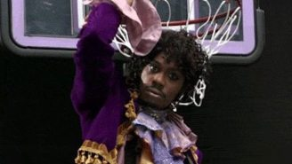 Blake Griffin Did His Best Impression Of Dave Chappelle's Prince After A Dunk