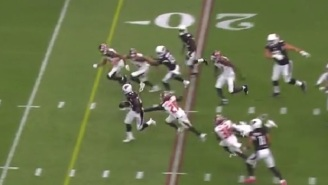 Adrian Peterson Busts Loose For 27-Yard Touchdown In First Game With Arizona Cardinals