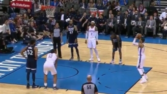 Watching OKC Thunder Guard Andre Roberson Air-Ball Two Straight Free Throws Is Cringeworthy