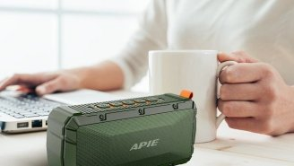 This Tiny APIE Wireless Speaker Delivers Amazing Sound And Can Be Yours For 80% Off