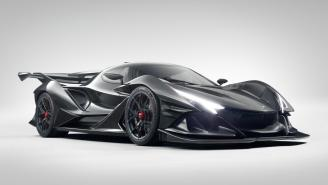 You've Never Seen A Car Like The Apollo Intensa Emozione Because There's Never Been One Like It