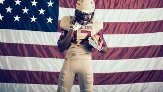 Arizona State Unveils 'Brotherhood' Uniforms That Honor Pat Tillman, Active Military And Vets