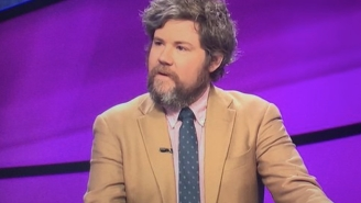 Austin Rogers' 'Jeopardy' Reign Ended, But Not Before A Hilariously Inappropriate Moment With Trebek