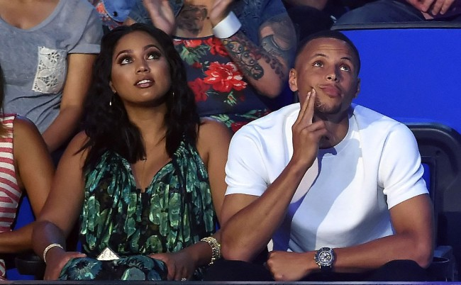 Ayesha Curry admitted Steph foot fetish