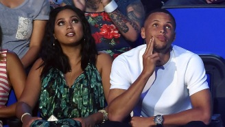 Ayesha Curry Just Made Steph's Road Games Way More Interesting, Admitting He Has A Foot Fetish On TV