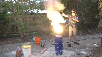 Backyard Scientist Makes A Sword Using THERMITE, Once Again Proves How Awesome Science Is