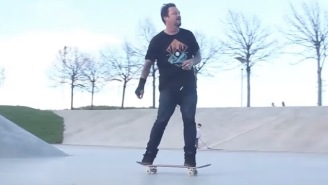 Bam Margera's Skating Again And He Looks Great After Getting Sober And Healthy