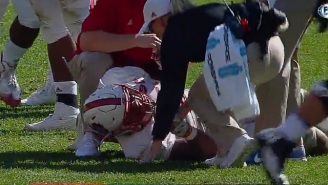 NC State's Bradley Chubb Suffers Gruesome Finger Dislocation Injury