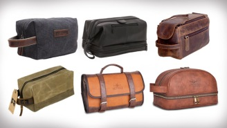 The 15 Best Dopp Kits To Help Keep You Looking Good When You're On The Road