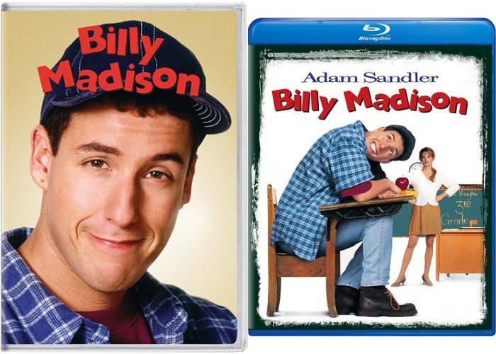 billy madison bluray dvd
