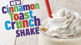 Burger King Is Unveiling A Cinnamon Toast Crunch Shake Because Why The F*ck Not