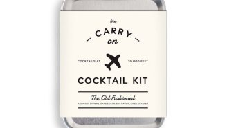 Enjoy An Old Fashioned At 30,000 Feet Thanks To The Carry On Cocktail