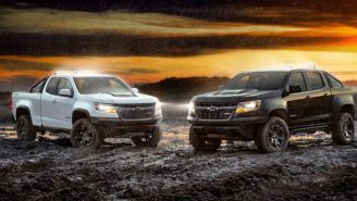 Chevy Goes All Black Everything With Eye-Catching 2018 Colorado ZR2 Midnight And Dusk Editions