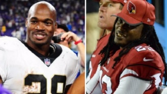 Chris Johnson Gets Cut For Adrian Peterson Just A Few Weeks After Tweeting 'AP Needs More Touches'
