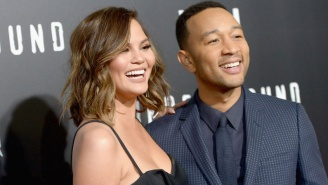 Chrissy Teigen Savagely Trolled Her Non-Baseball Fan Husband For Being Front Row At The World Series