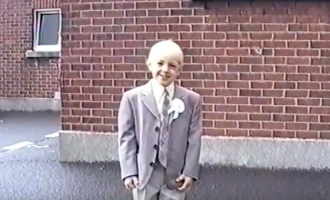 Conor McGregor 7-years-old