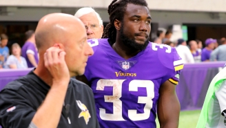 Vikings RB Dalvin Cook Diagnosed With Nearly Complete ACL Tear After Non-Contact Injury
