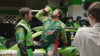 Dale Earnhardt Jr. And Danny McBride As NASCAR Driver Dewey Ryder Is Pure Electric