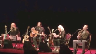 Dave Matthews, Emmylou Harris, And More Cover 'Refugee' In Acoustic Tribute To Tom Petty