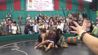 'Devil's Wheel' Is An Awesome Oktoberfest Tradition, A Spinning That Drunk People Try And Ride