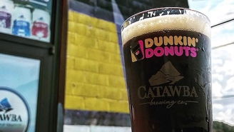 Dunkin' Donuts Released Their Own Craft Beer And Of Course It's Pumpkin Spice