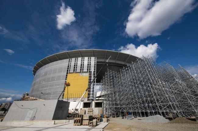 Ekaterinburg Arena Russia World Cup 2018 grandstand
