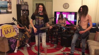 Watch 4 Kids Absolutely Crush Covers Of Pearl Jam's 'Even Flow' And Metallica Classics