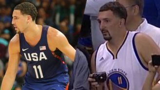 Fake Klay Thompson Wasn't The First, GIFs Show 2017 Has Been 'The Year Of The Fake Athlete'