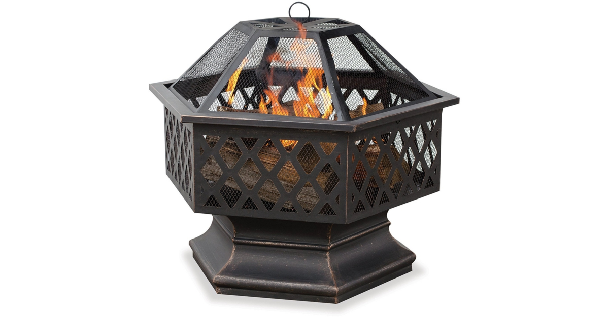 hex fire pit