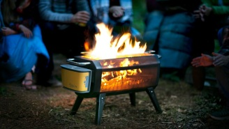 This Smokeless, Wood-Burning Fire Pit Is The Ultimate Backyard Accessory For Anyone Who Loves A Bon Fire