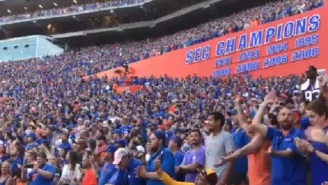 Florida Gators Fans Honor Tom Petty By Singing ''I Won't Back Down' During Game