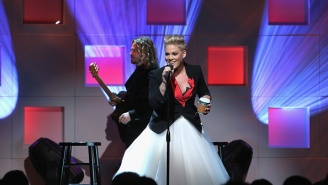 How Pink Got Drunk To Ask Eminem To Do A Collaboration And His Response